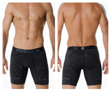 INIZIO 29816 Microfiber Kendrik Boxer Briefs Color Black