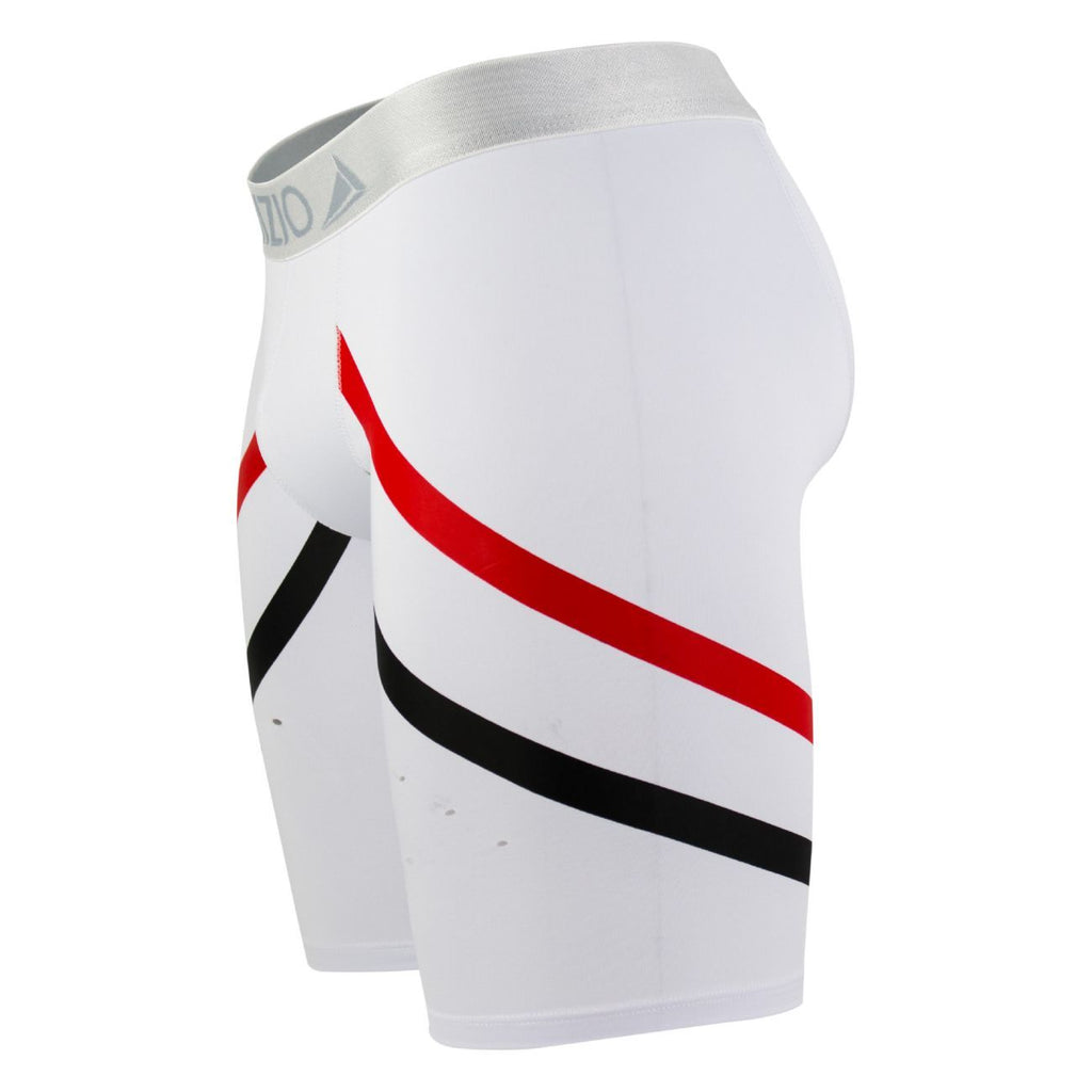 INIZIO 29826 Athletic Logy Boxer Briefs Color White