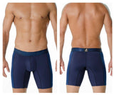 INIZIO 29846 Microfiber Ocam Boxer Briefs Color Blue