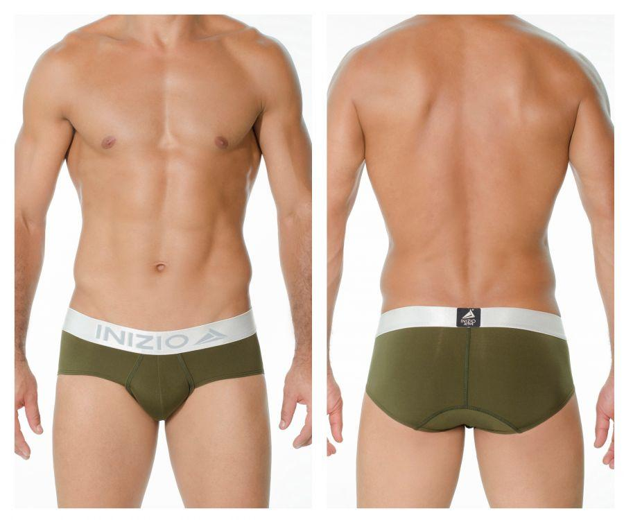 INIZIO 29896 Microfiber Million Briefs Color Green