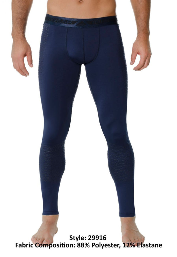 INIZIO 29916 Linve Athletic Pants Color Blue