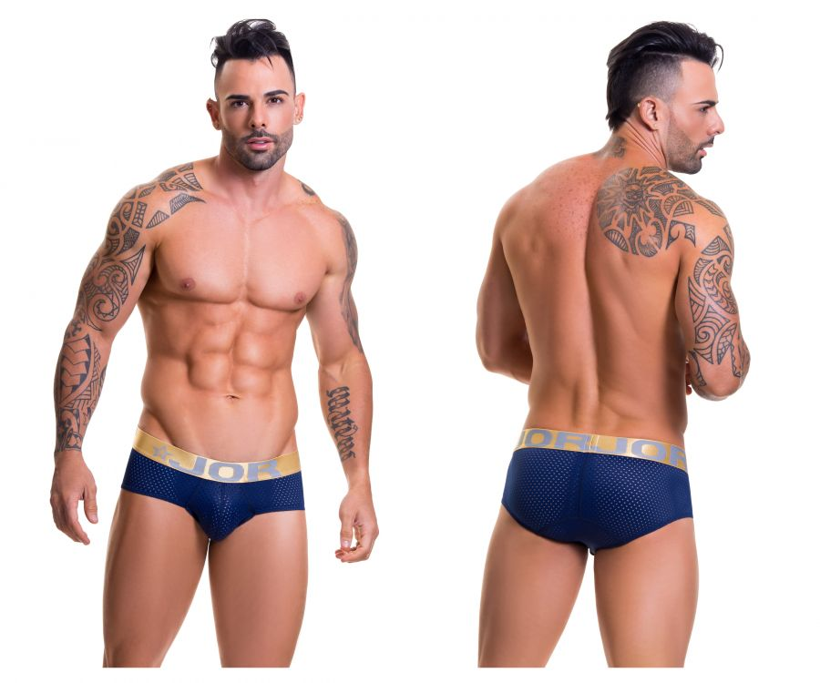 JOR 0305 Cronos Briefs Color Navy