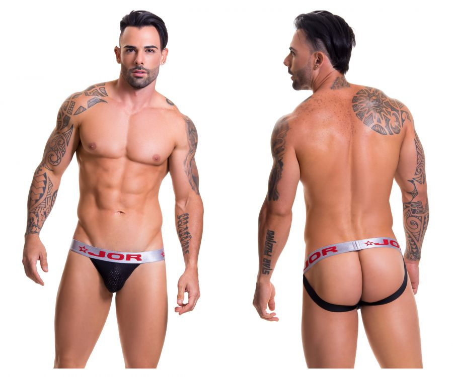 JOR 0306 Cronos Jockstrap Color Black