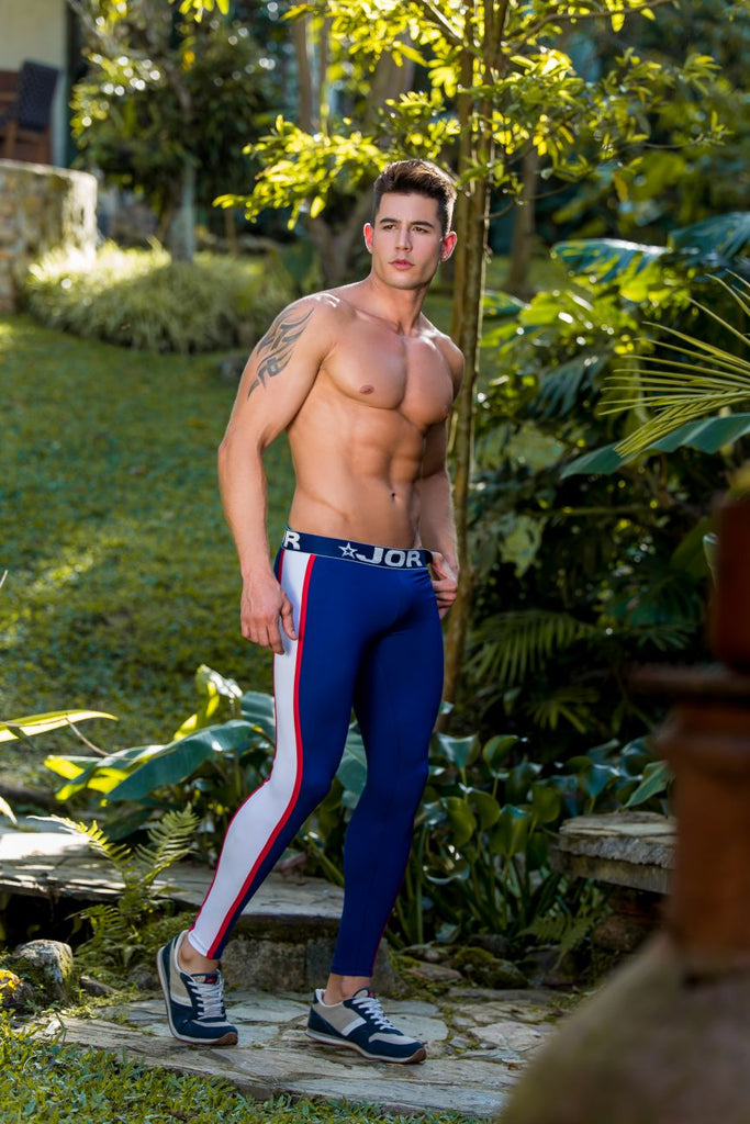 JOR 0373 Gladiator Athletic Pants Color Navy