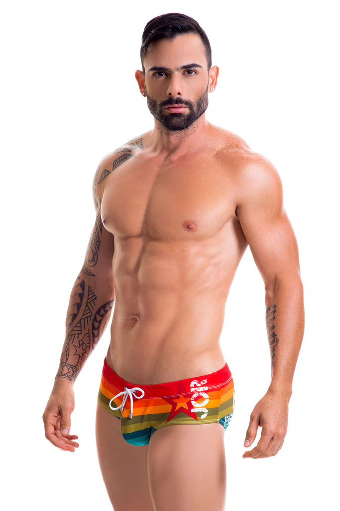 JOR 0417 Pride Swim Briefs Color Multi-colored
