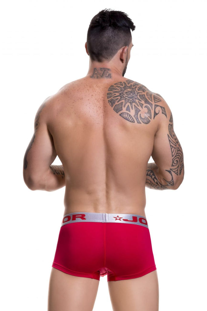 JOR 0453 Soft Boxer Briefs Color Red