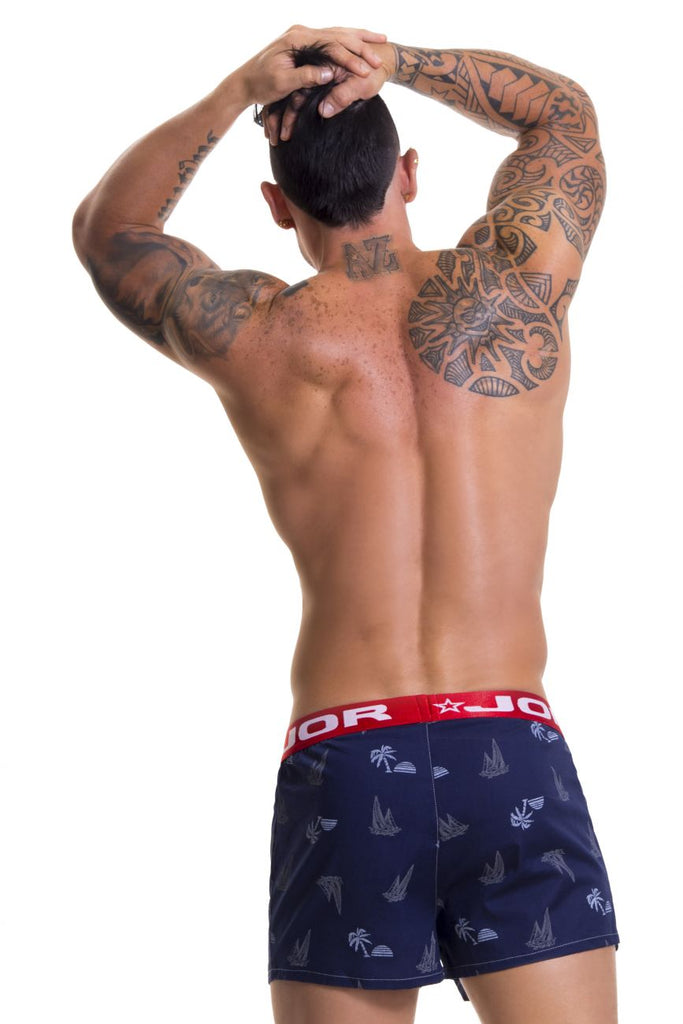 JOR 0464 Relax  Boxer Color Navy