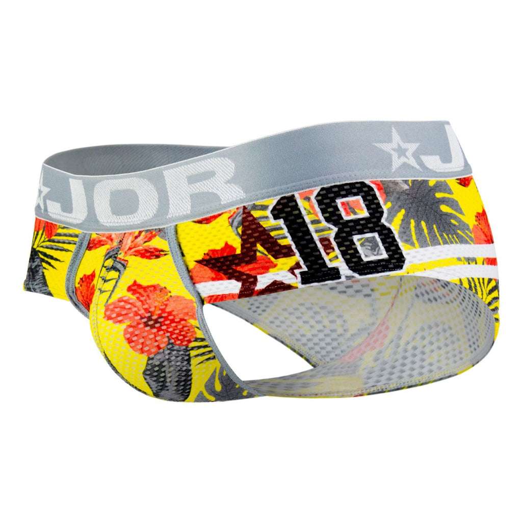 JOR 0570 Hawaii Briefs Color Printed