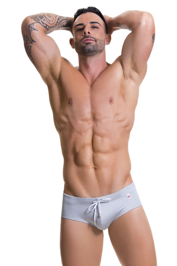 JOR 0574 Rich Swim Briefs Color Silver