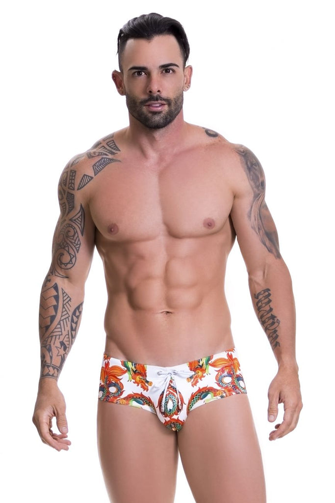 JOR 0579 Dragone Swim Briefs Color Printed