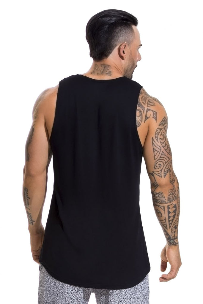 JOR 0597 Match Tank Top Color Black