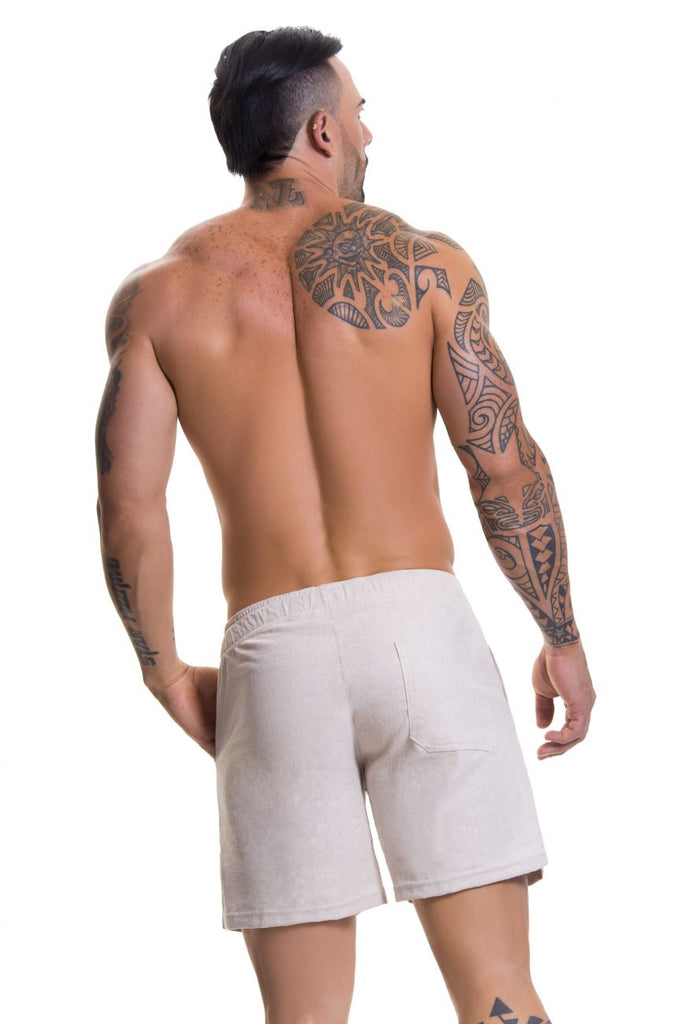 JOR 0598 Copacabana Athletic Shorts Color Beige