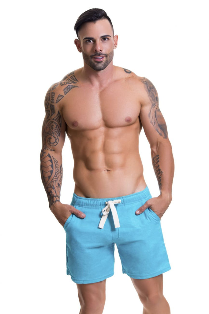 JOR 0598 Copacabana Athletic Shorts Color Turquoise