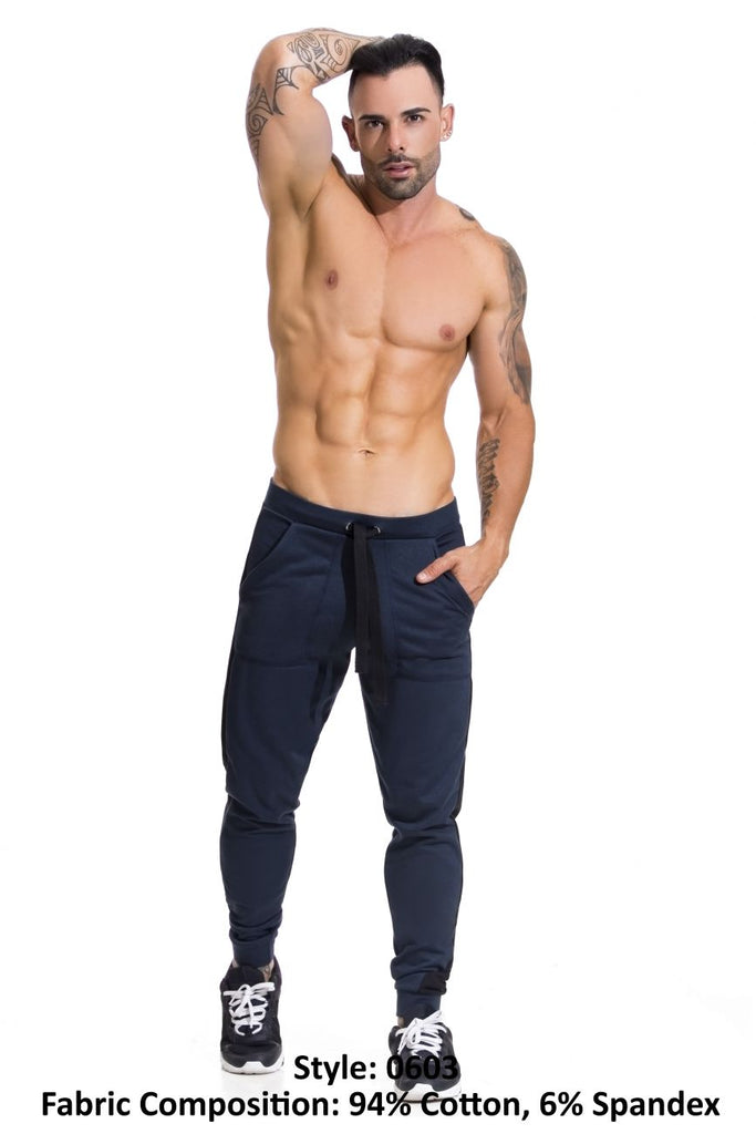 JOR 0603 Titan Athletic Pants Color Petrol