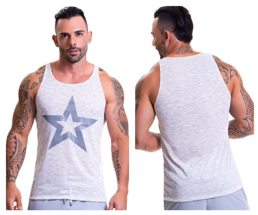 JOR 0609 Bliss Tank Top Color Gray