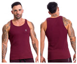 JOR 0611 Titan Tank Top Color Wine