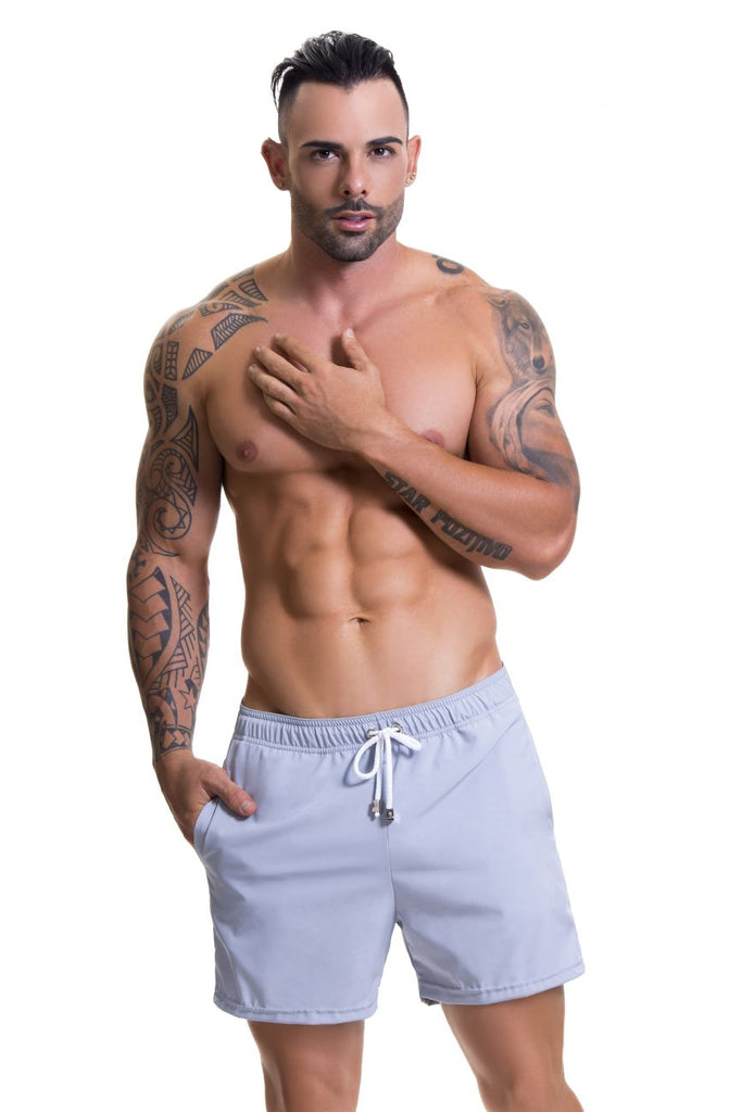 JOR 0613 Stone Athletic Shorts Color Gray