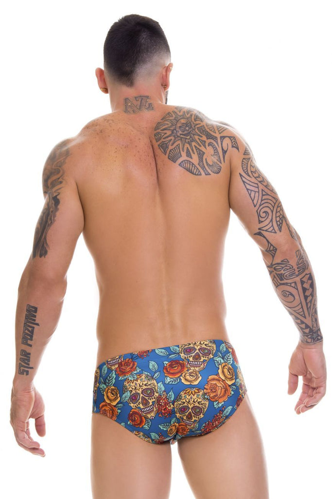 JOR 0659 Rivera Swim Briefs Color Printed