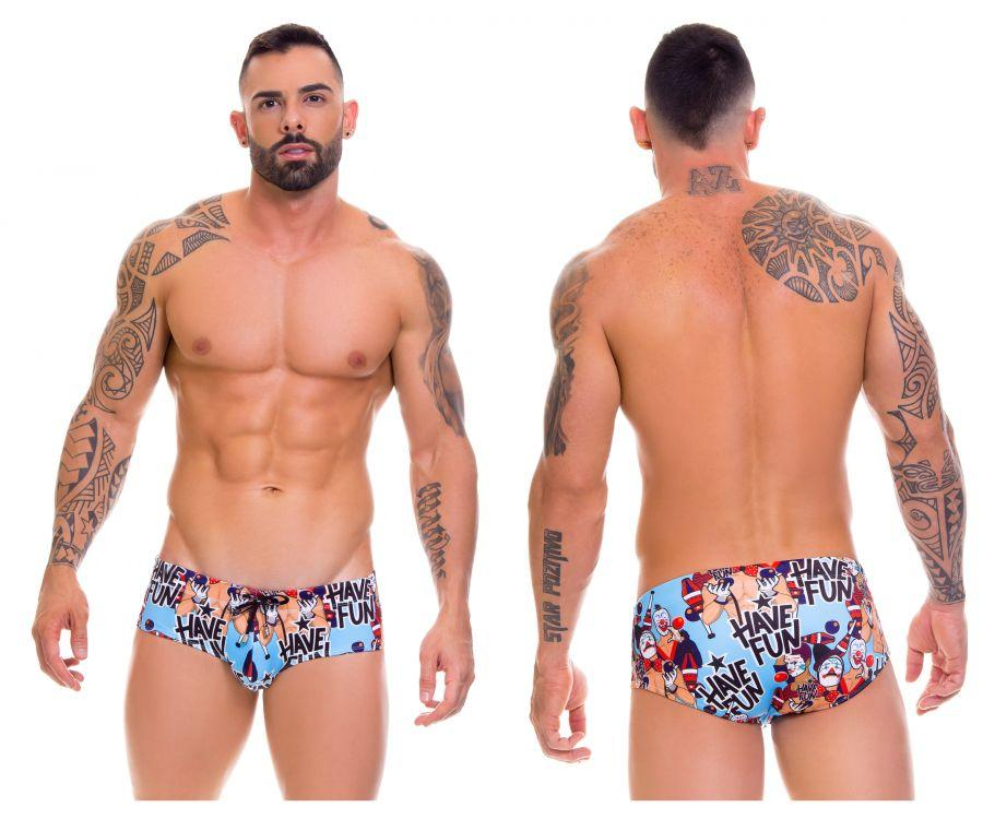 JOR 0660 Fun Swim Briefs Color Printed