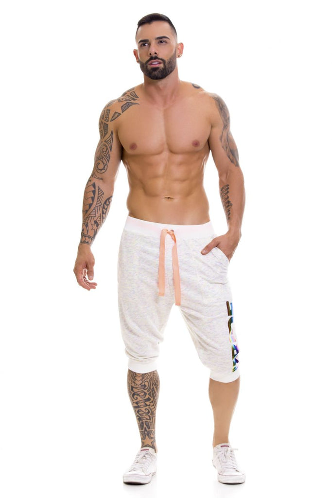 JOR 0678 Pride Athletic Shorts Color Beige