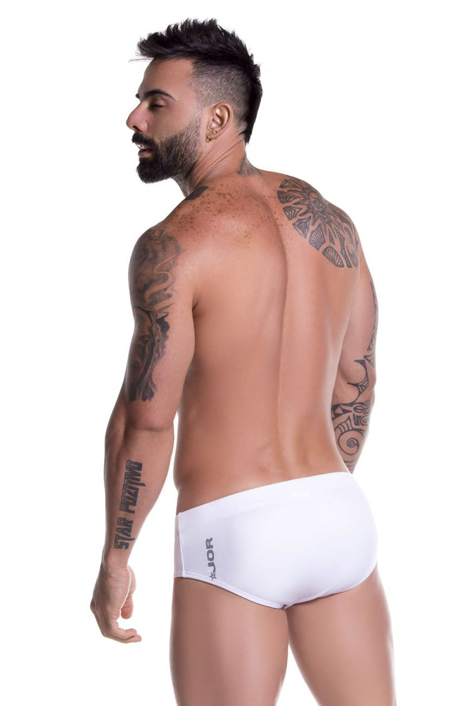 JOR 0762 Sunga Swim Briefs Color White
