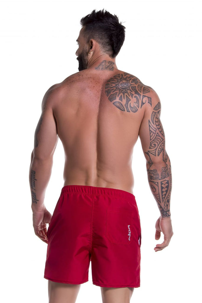 JOR 0786 Torino Athletic Shorts Color Red