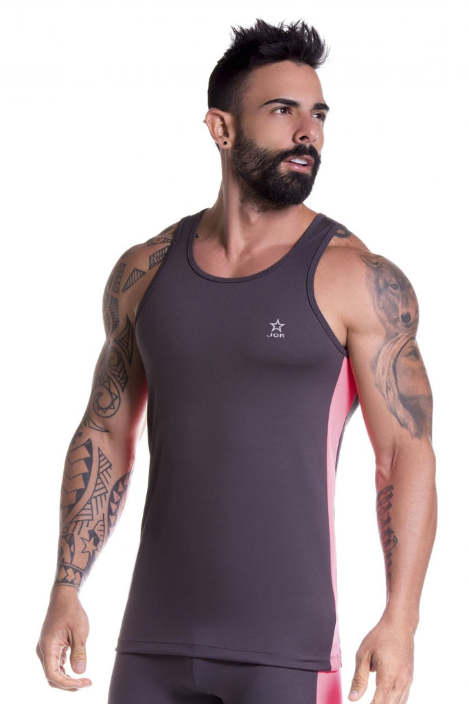 JOR 0789 Runner Tank Top Color Gray