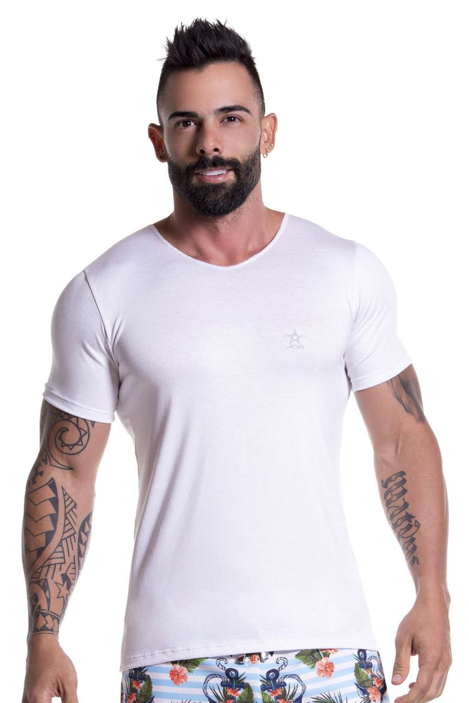 JOR 0803 Basic T-Shirt Color White