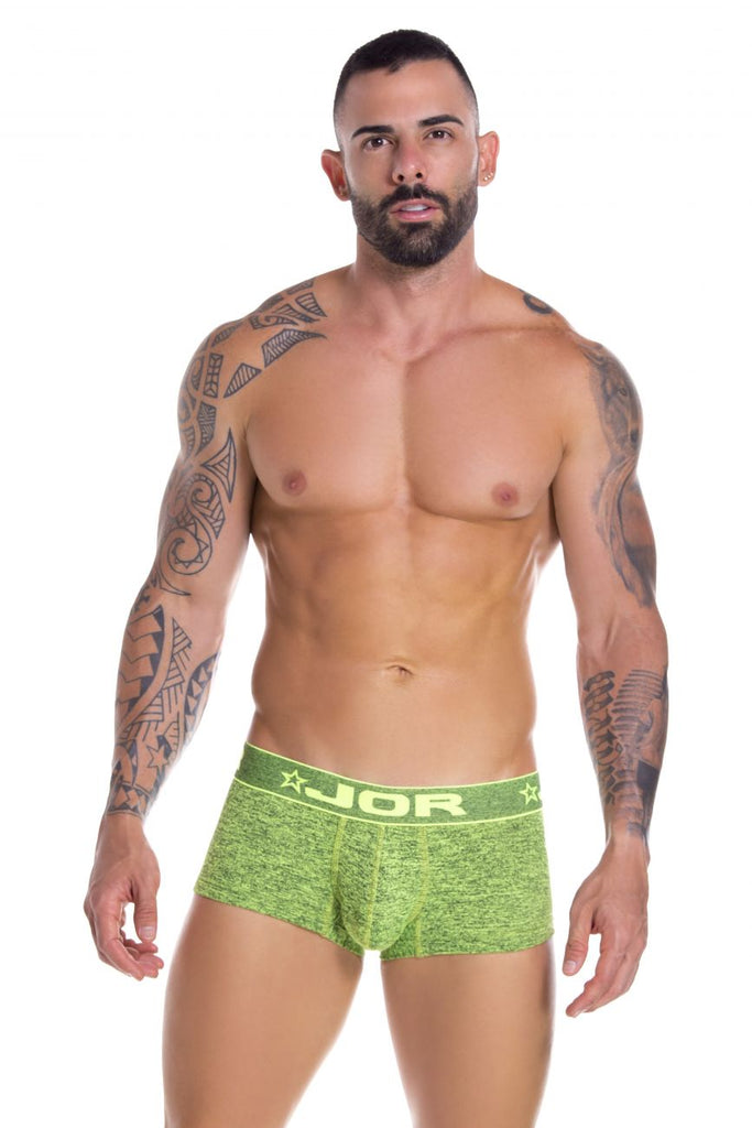 JOR 0827 Pop Boxer Briefs Color Green