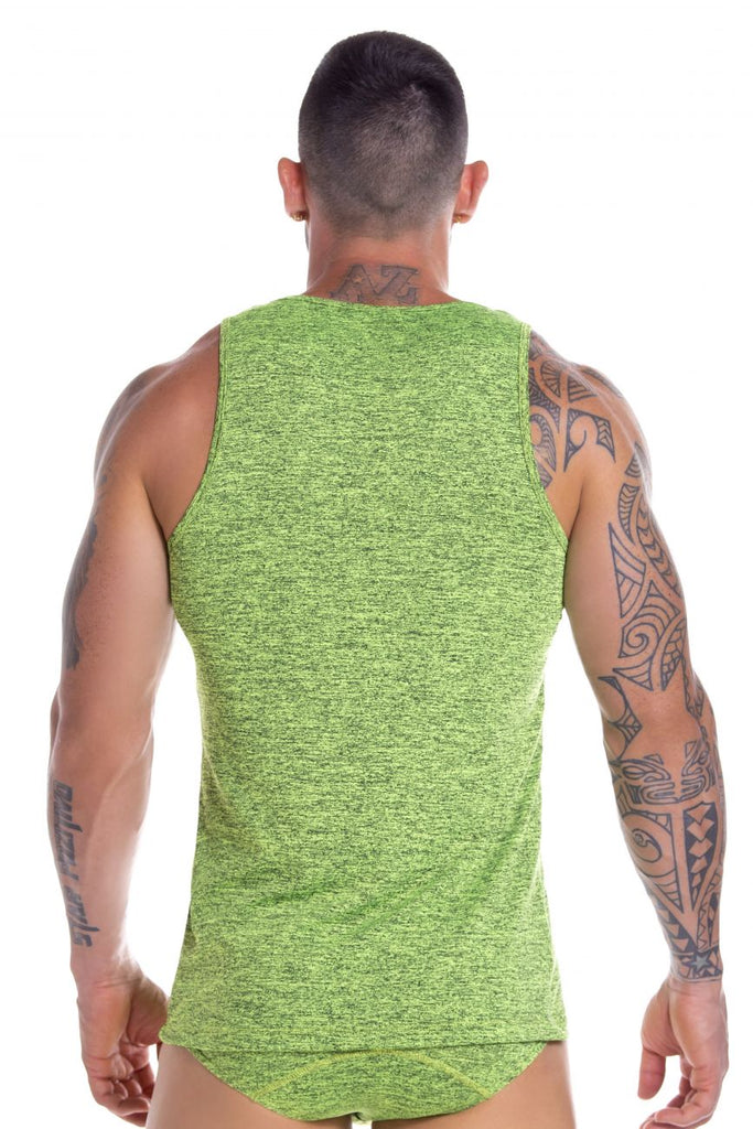 JOR 0831 Pop Tank Top Color Green
