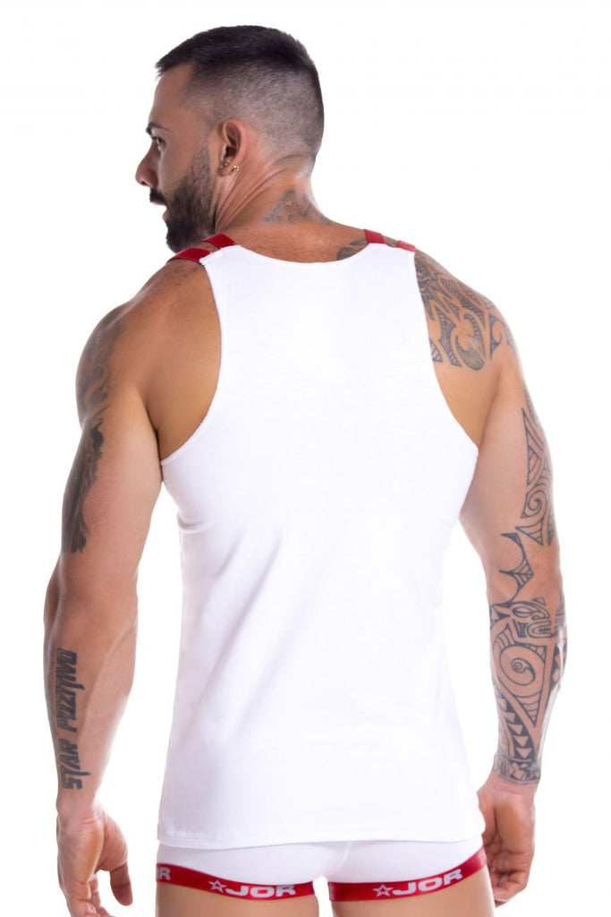 JOR 0854 Power Tank Top Color White