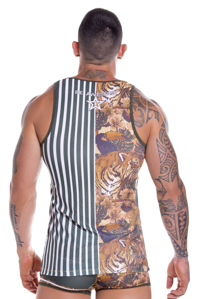 JOR 0872 Bengal Tank Top Color Printed
