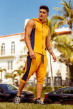 JOR 0918 Milan Athletic Pants Color Mustard