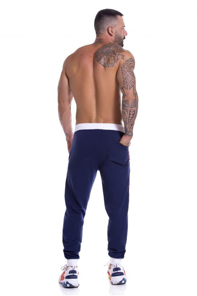 JOR 0920 Invictus Athletic Pants Color Blue