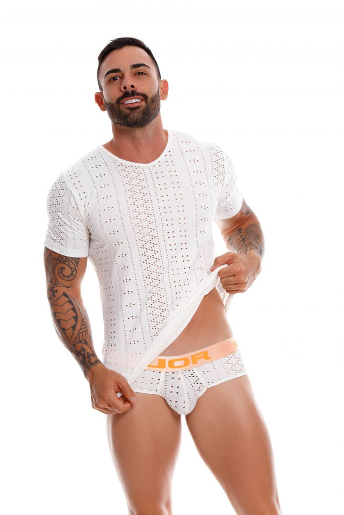 JOR 0935 Charles Briefs Color White