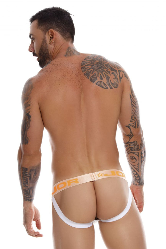 JOR 0937 Charles Jockstrap Color White
