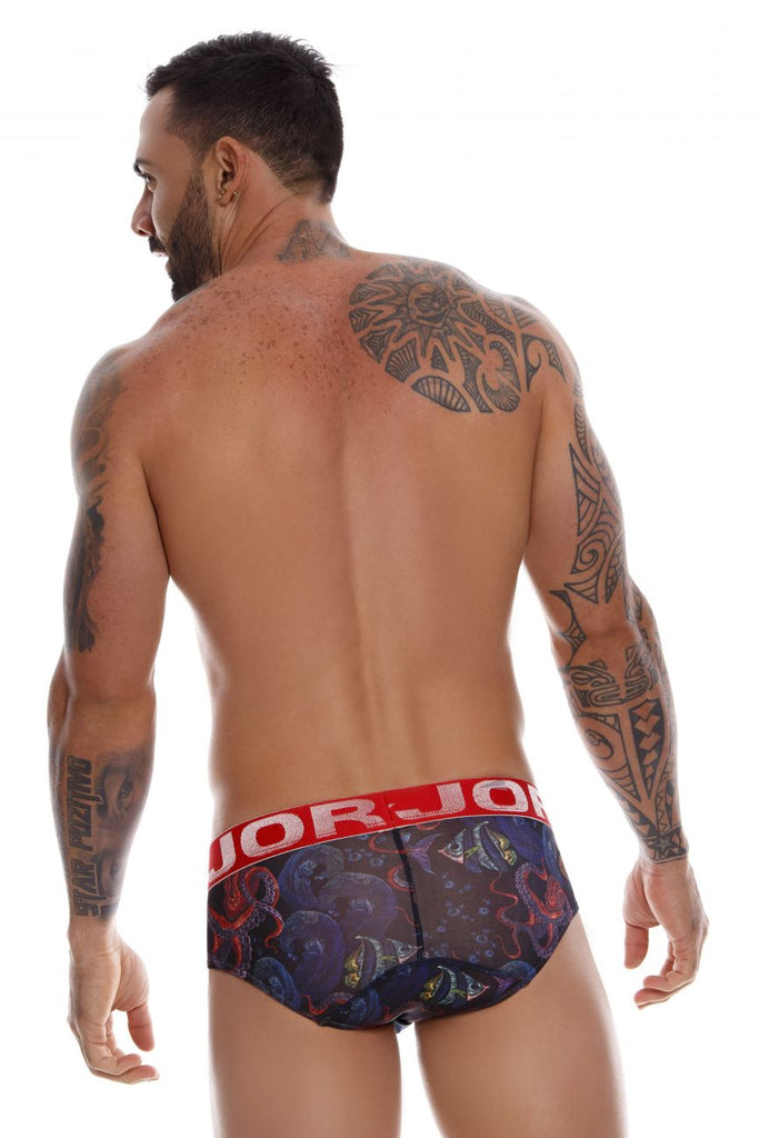 JOR 0993 Octupus Briefs Color Printed