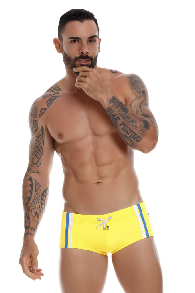 JOR 1020 Capri Swim Trunks Color Yellow
