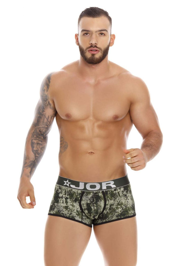 JOR 1217 Army Trunks Color Green