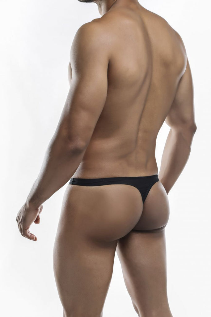 Joe Snyder JS03-Pol Polyester Thong Color Black-Poly