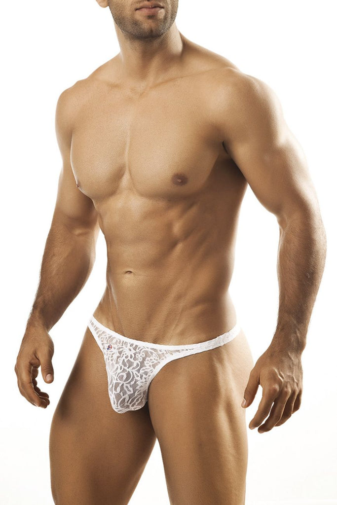 Joe Snyder Thong JS03 White Lace