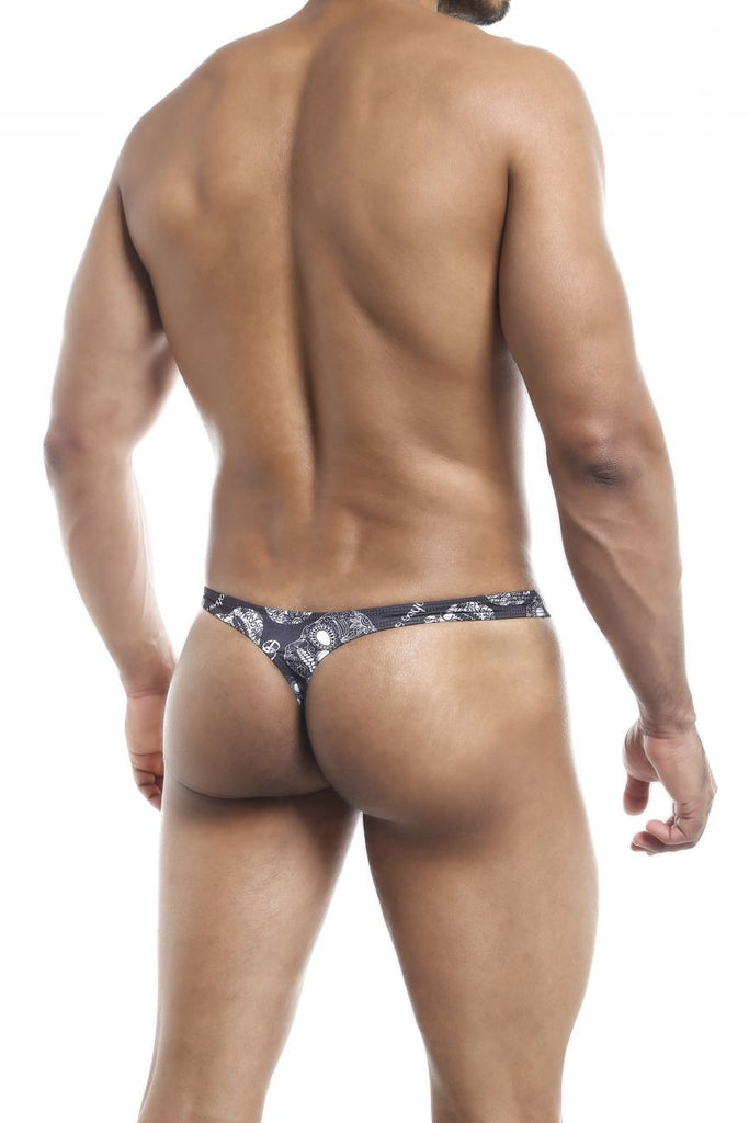 Joe Snyder JS03 Thong Color (cp) Skulls
