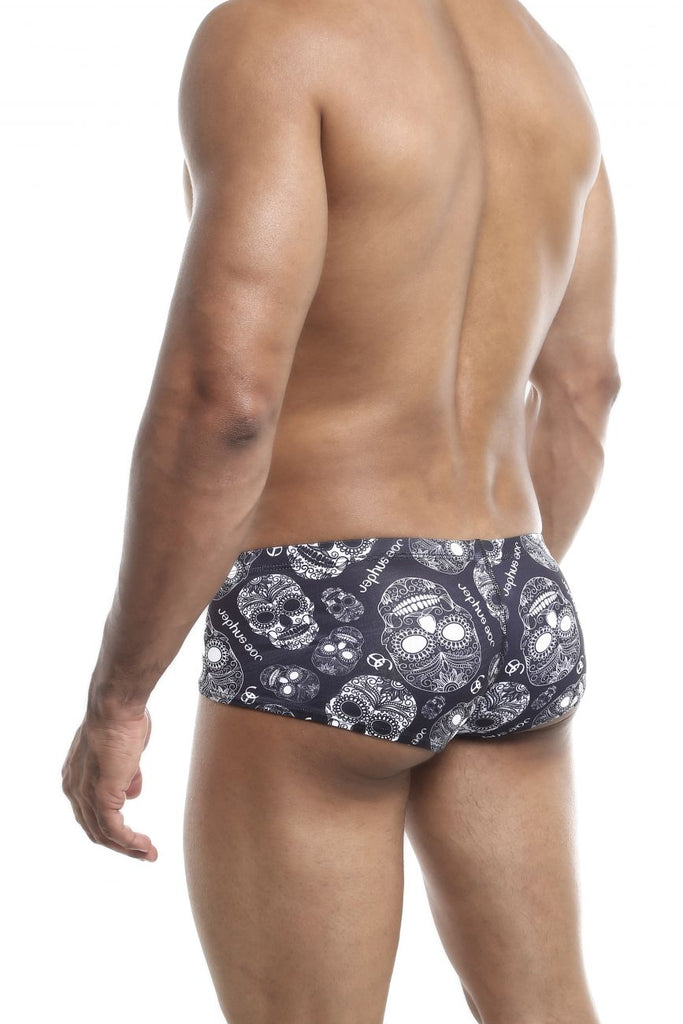 Joe Snyder JS13 Cheek Boxer Color (cp) Skulls