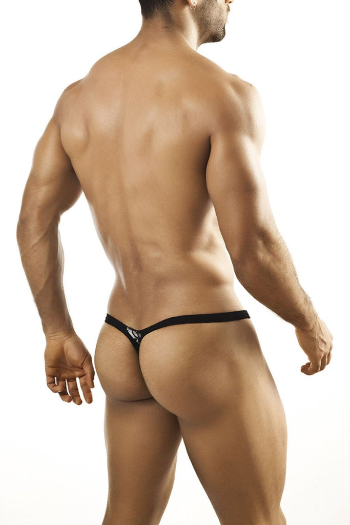 Joe Snyder JSBUL02 Bulge Tanga Color Black Lace