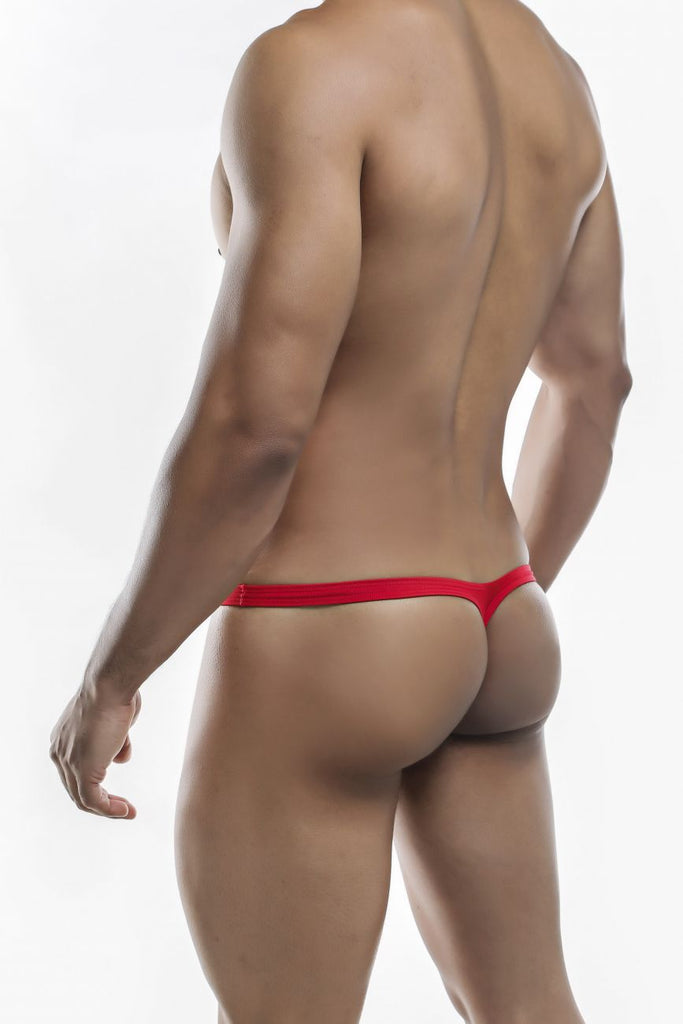 Joe Snyder JSBUL02-Pol Polyester Bulge Tanga Color Red-Poly