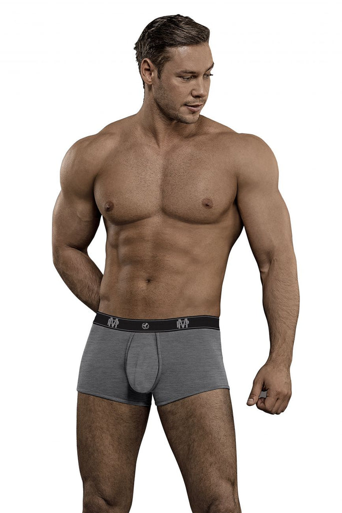 Male Power 150-253 Bamboo Mini Short Color Gray