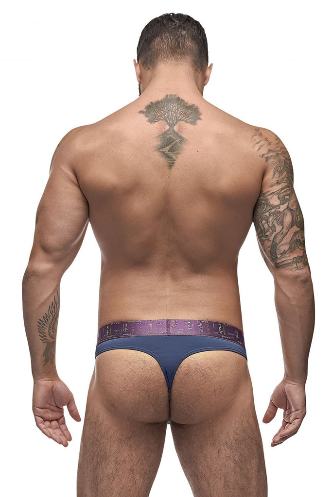 Male Power 435-249 Avant-Garde Enhancer Thongs Color Antique Blue