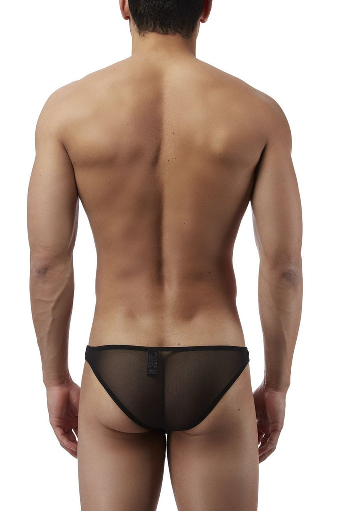 Male Power PAK881 Euro Male Mesh Brazilian Pouch Bikini Color Black