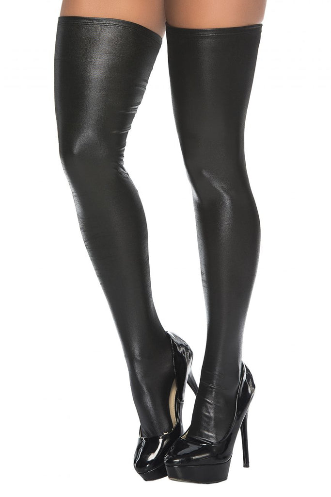 Mapale 1017 Thigh Highs Color Black