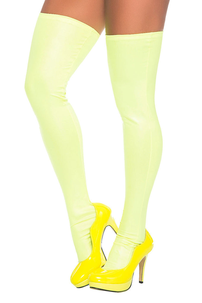 Mapale 1017 Thigh Highs Color Green